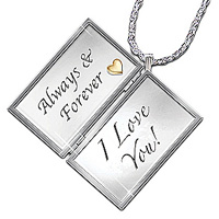 Love Letter Locket Romantic Jewelry