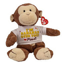 Bananas Over You Plush Monkey