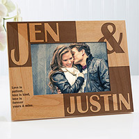 Personalized Frame Engraved
