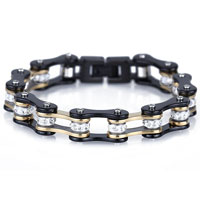 Bike Chain Mens Bracelet
