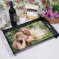 Custom Photo Serving Tray