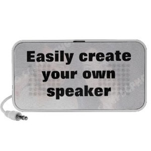 Custom Photo Speaker