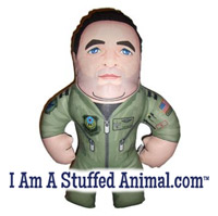 I Am A Stuffed Animal Custom Buddy Deployment Gift