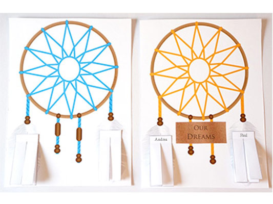 Dreamcatcher Personalized Papercraft