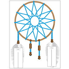 Dreamcatcher Paper Craft