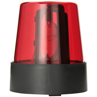 Emergency Rescue Red Flashing Mini Beacon Light