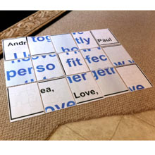 Floor Puzzle Jumbled Romantic Idea