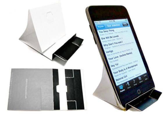 Folding Stand for iPod, iPhone