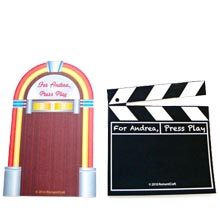Folding Stand Jukebox and Video Backgrounds
