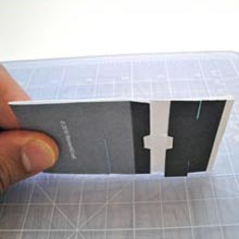 Folding Stand iPod Business Card