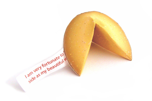 Fortune Love Note Cookie