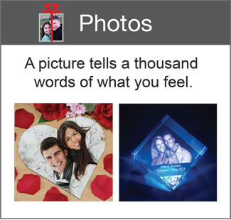 Romantic Gifts - Photo Gifts