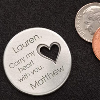Personalized Gifts Pocket Token