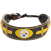 Leather Football Team Bracelet