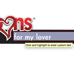 Love Coupon Envelope Text