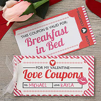 Vouchers of Love Under 10 dollars