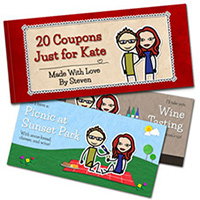 LoveCoups - Personalized Love Coupons