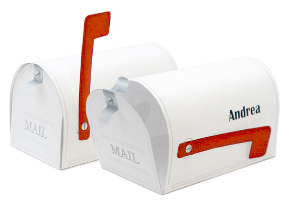 Mini mailbox for Mini tin mailboxes for crafts