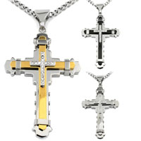 Multi-Layer Cross Pendant