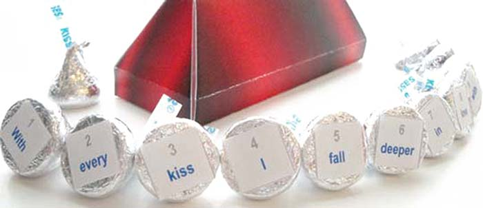 Kiss Box and Labels