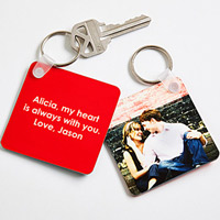 Photo Key Ring Romantic Photo Gift