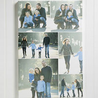 Personalized Canvas Collage