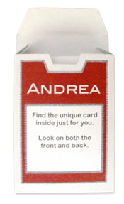 playing card front back