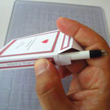 In The Cards Press Down