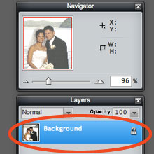Playing Card Layers Panel