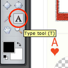Playing Card Type Tool