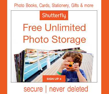 Free Unlimited Photo Storage-Shutterfly