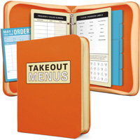 Fun Romantic Gifts Takeout Menu Organizer