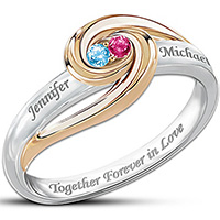Forever Together Personalized Ring