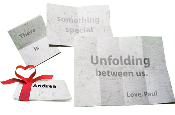 Unfolding Love Note
