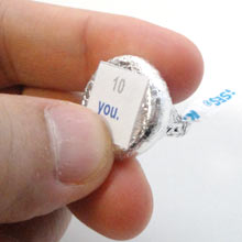 With Every Kiss Box labels
