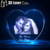 3D Laser Romantic Photo Gifts