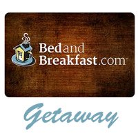 Bed and Breakfast Getaway Gift Card