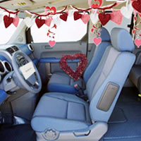 Romantic Ideas - Car Interior Decoration