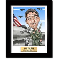 Romantic Deployment Gifts Custom Caricature