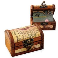 Romantic Gifts Engraved Treasure Chest
