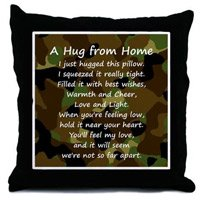 Deployment Gifts Camo Pillow