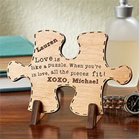 Perfect Match Personalized Puzzle