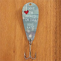 Fun Romantic Gifts Personalized Fishing Lure
