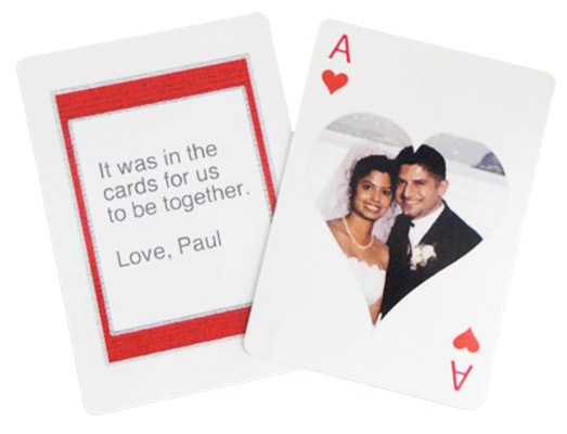 Personalized Playing Card