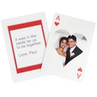 Personalized Playing Card Printable Paper Craft