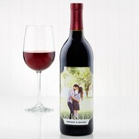 Custom Photo Wine Label
