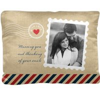 Stamped In Love Photo Pillow