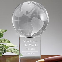 You Mean The World To Me Globe
