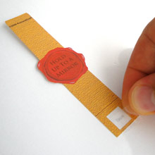 Love Letter Scroll tape