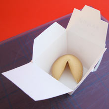 Take Out Box Add Fortune Cookie